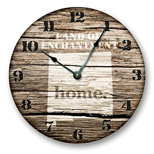 NEW MEXICO STATE HOMELAND CLOCK -LAND OF ENCHANTMENT STATE - Large 10.5