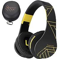 PowerLocus P2 – Auriculares Bluetooth inalambricos de Diadema Cascos Plegables, Casco Bluetooth con Sonido Estéreo Micro…