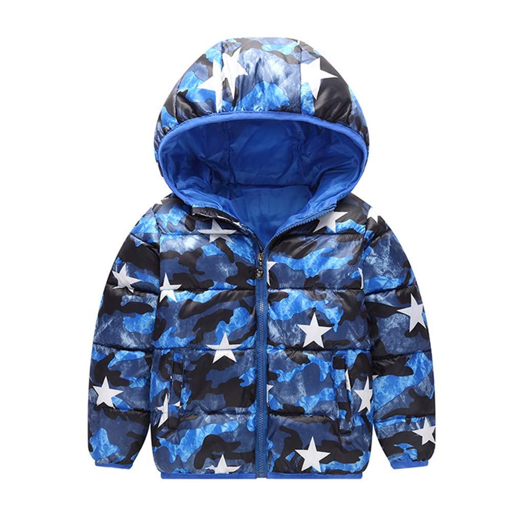 Kids Baby Hooded Down Jacket Boys Girls Winter Puffer Coat Snowsuit Windproof Padded Jacket Cotton Outerwear Vine Trading Co. Ltd K180719MF00110V