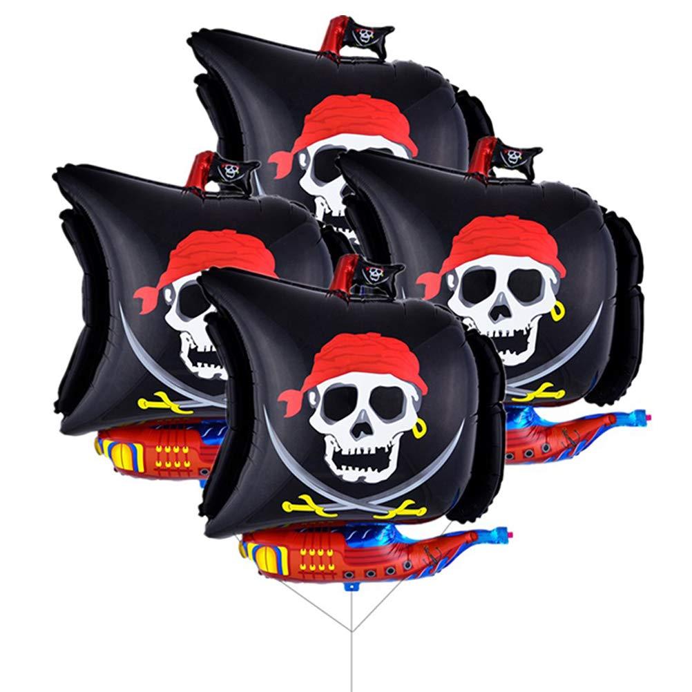 Toyandona - Globos de Mylar de barco pirata de 66 cm ...