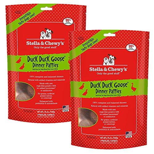 Stella & Chewy's Freeze-Dried Dog Food, Duck, 50 Ounce