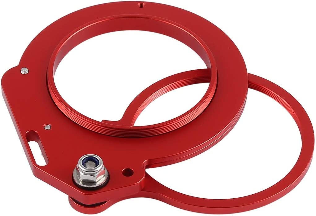 Color : Red JINGZ Aluminum Alloy 67mm to 62mm Swing Wet-Lens Diopter Adapter Mount for DSLR Underwater Diving Housing Durable