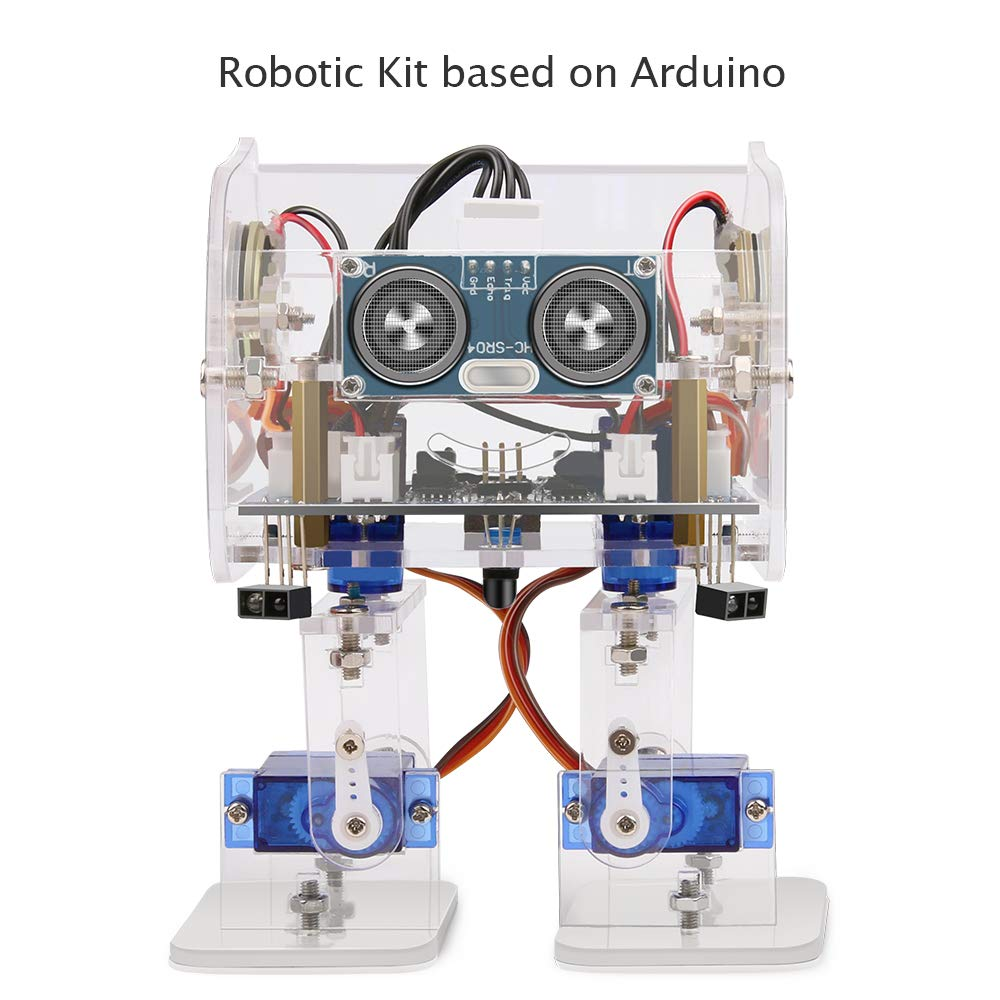 Toys & Hobbies Open-Minded Keywish For Arduino Balance Robot Cars App Remote Control Ultrasonic Robotics Learning Kit Educational Stem Toy For Children Kid High Tech Toys