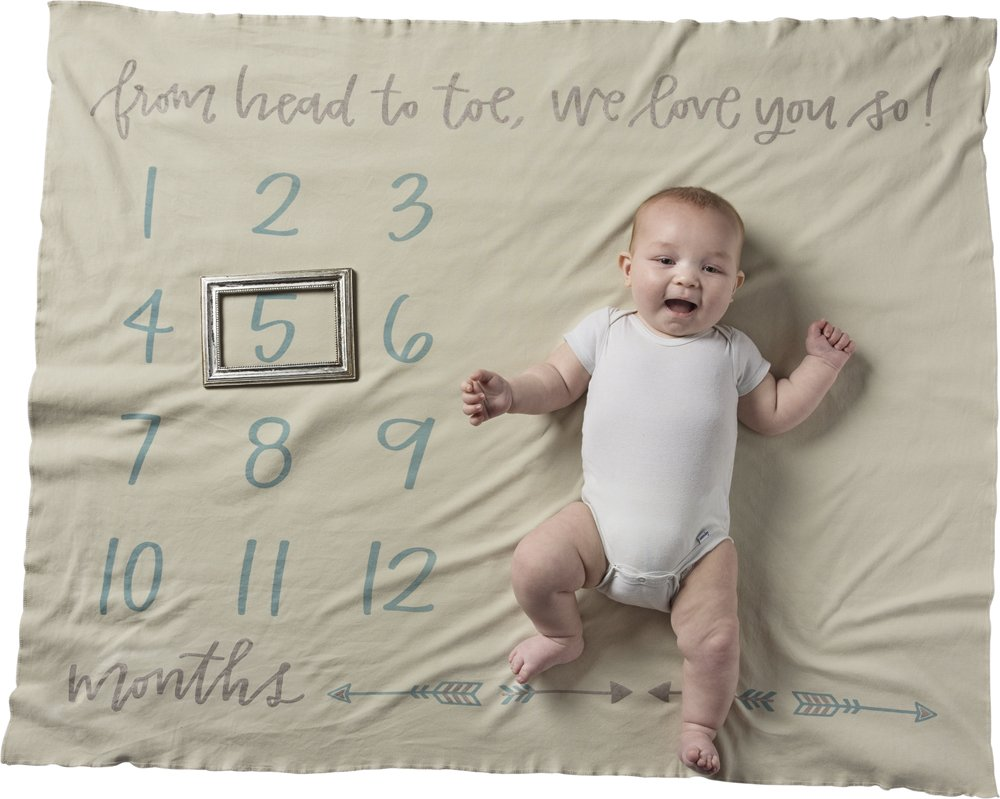 Swaddle Blanket - From Head to Toe