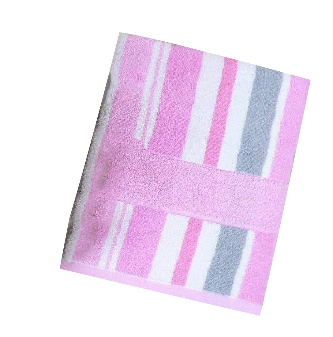 Mfasica Ideal for Everyday use Ultra Absorbent Antibacterial Multipurpose Soft Skin-Friendly Bath Sheet Pink 70140cm
