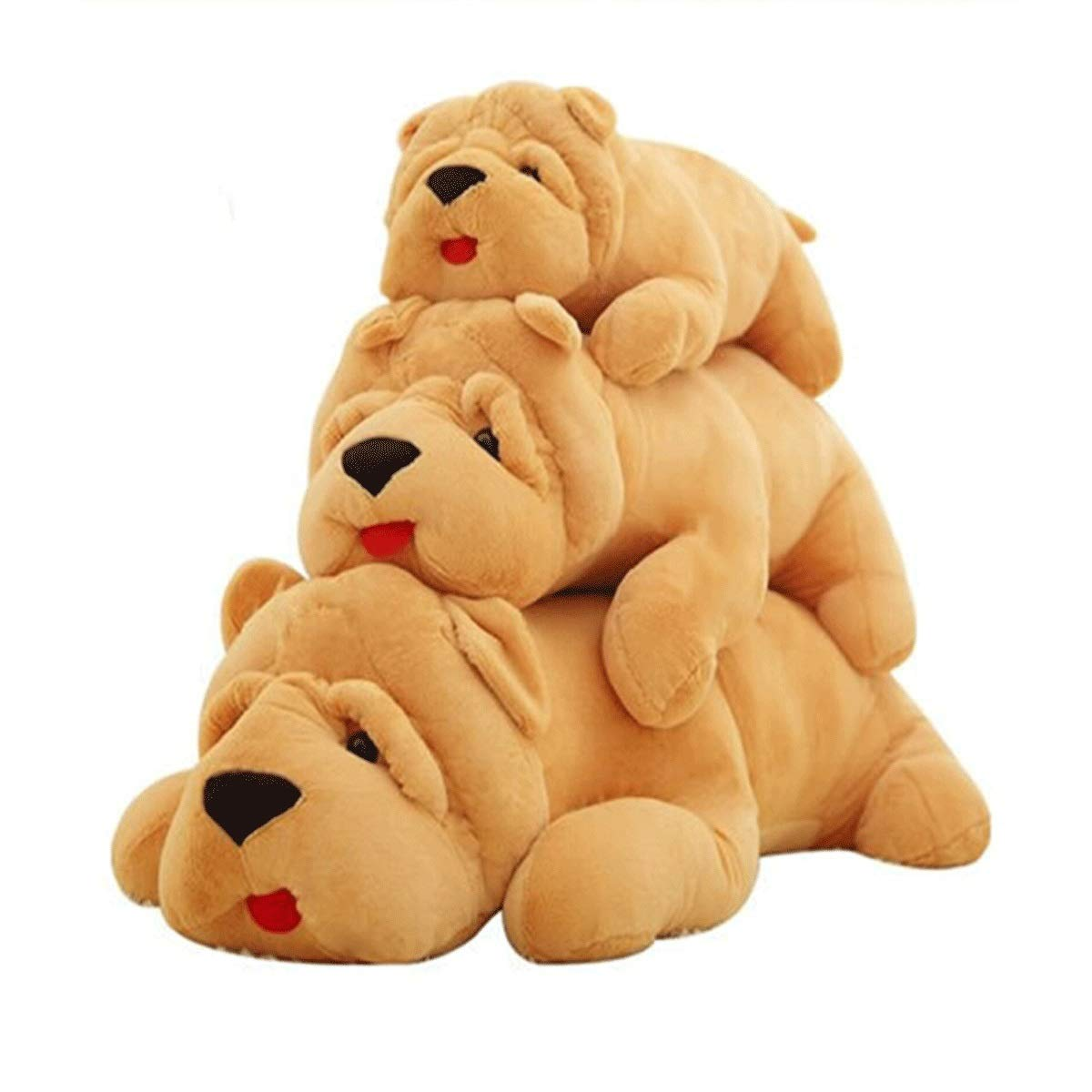 120cm Xionghaizi Plush Toy Dog, Pillow, Large Rag Doll, Dog Figurine, Plush Dog, Birthday Present, Light Brown Dog, Multi-Size, Best Gift Latest Models (Size   120cm)