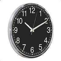 UniqueHome 97284 Metal duvar saati, 48 Cm Çapında