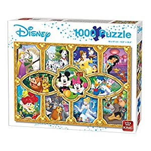 King 5279 Disney Magical Moments Puzzle