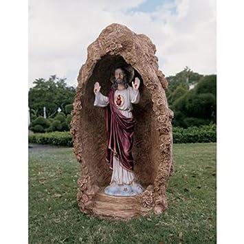 Amazoncom Design Toscano Meditation Grotto of Sorrento