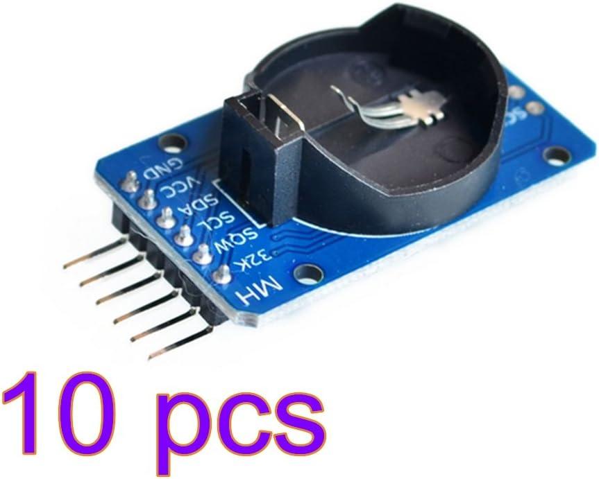 DS3231 AT24C32 Real Time Clock RTC High Precision Clock Modul IIC Modul-Speichermodul winzige DS3231 AT24C32 I2C Modul Praezision Echtzeituhr-Modul fuer Arduino 5 St/ück
