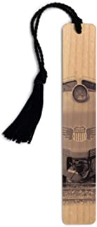 product image for Gas Turbine Electric Union Pacific Locomotive Engine Handmade Wooden Bookmark with Tassel