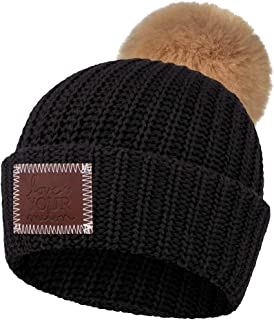 product image for Love Your Melon Cuffed Pom Beanie