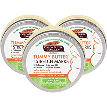 Amazon Com Palmer S Cocoa Butter Formula Tummy Butter Balm For