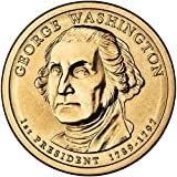 2007 D Position B Satin Finish George Washington Presidential Dollar Choice Uncirculated US Mint