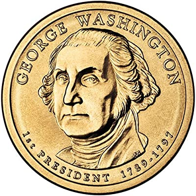 2007 P Position A Satin Finish George Washington Presidential Dollar Choice Uncirculated US Mint