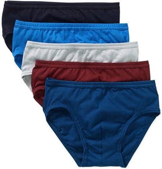 Jockey Men's Classic Low Rise Briefs 4-Pack 100/% Cotton Blues Size 36