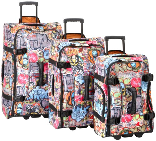 athalon-luggage-3-piece-hybrid-travlers-set-graffiti-one-size
