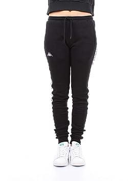 Kappa 304M6K0 Pantalones Mujer Negro S: Amazon.es: Deportes y aire ...