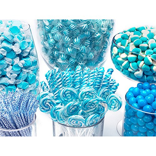 Blue Candy Kit - Party Candy Buffet Table by YumJunkie (Image #1)
