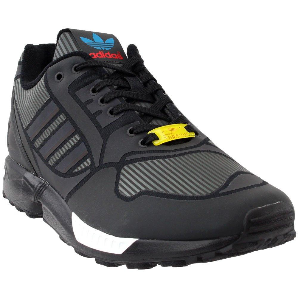 adidas ZX Flux Mens Fashion-Sneakers B54177_11 - CBLACK,CLAQUA,FTWWHT