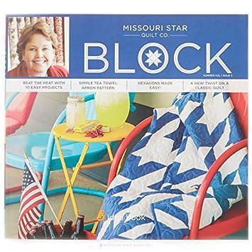Amazon.com: Missouri Star Quilt Co. Block Summer Volume 1 Issue 3 ... : missouri star quilt company tutorials channel - Adamdwight.com