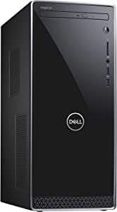 Dell Inspiron 3670 Intel Core i5-8400 X6 2.8GHz 12GB 1TB Win10, Black (Renewed)