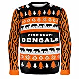 Forever Collectibles CINCINNATI BENGALS ONE TOO MANY UGLY SWEATER