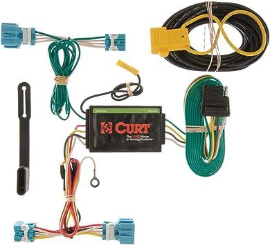 amazon com curt 56123 vehicle side custom 4 pin trailer honda cb750 wiring harness custom honda wiring harness #15
