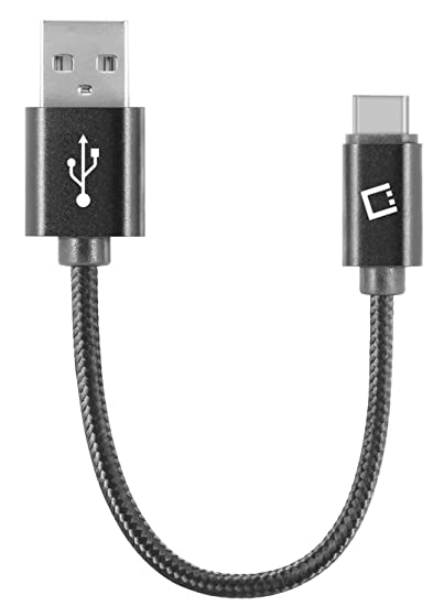 Amazon.com: USB Type-C to USB Type-A Data Power Cable Black ...