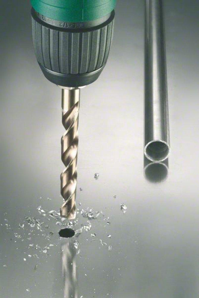 Diam/ètres 1//1,5//2//2,5//3//3,5//4//4,5//5,5//6//6,5//7//7,5//8//8,5//9//9,5//10 mm Bosch 2609255133 Set de 19 Forets /à m/étaux rectifi/és HSS-Cobalt