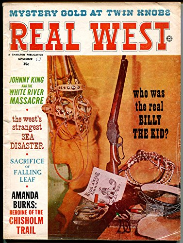 Real West 11/1962-Billy The Kid-pulp thrills-Most Famous Poker Game-VG