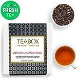 Teabox USDA Organic Himalayan Darjeeling Black Loose Leaf Tea 12 Oz. (170 Cups) | Fresh Whole Leaf Tea (2 Free Exotic Samples) |100% Natural Ingredients: Basil, Fennel, Orange | Sourced from India