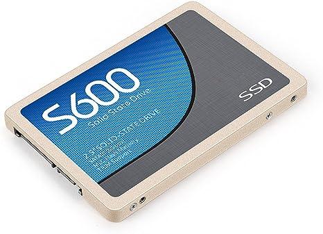 Eaget s600 Disco Duro SSD Ultra Rápido 2.5 SATA3.0 Unidad de ...