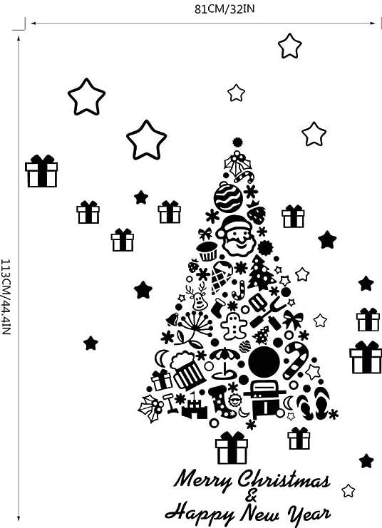 Amazon Com Livoty Merry Christmas Background Wall Decoration