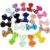 Infant Baby Girls Archets cheveux Clips Hairpin Barrettes Set de 20 couleurs