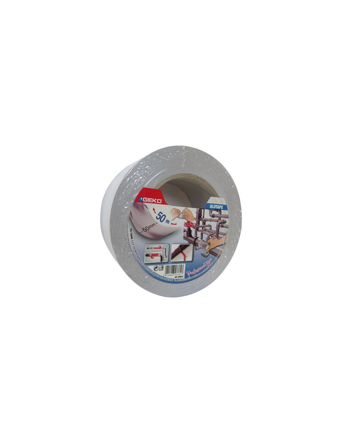 Geko 30000/4 Cinta Adhesiva, 50 mm x 50 m S. I. E. R. S.A. Geko_30000/4