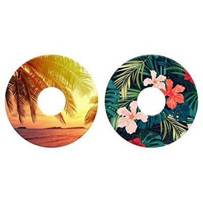 Lil Sucker Tropical Suction Ring - 2 Pack : Sports & Outdoors