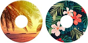 L'il Sucker Suction Rings, Drink Holders, Tropical, Pack of 2