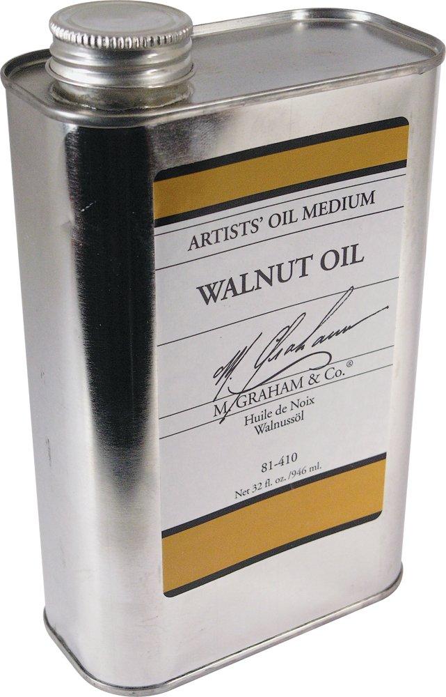 M. Graham 32-Ounce Walnut Oil Medium (81-410) M. Graham & Co.