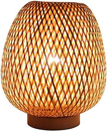 DXQWAN Lampe de Table Lanterne de Style rétro, Abat Jour en