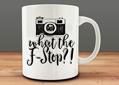 Photographer Mug What The F Photographer Gift Camera Mug Camera Gift Photography