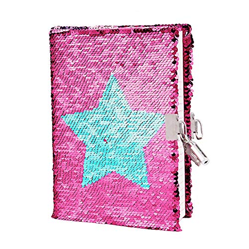 Jia Hu 1Pc Colorful Refill Paper 6 Holes Refillable Notebook Inserts for Ring Binder Planner Diary A5-Bell