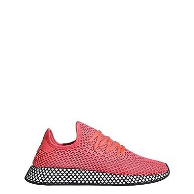 a43bd9a81 adidas Originals Deerupt Runner Shoe Mens Casual 9.5 Turbo-Black
