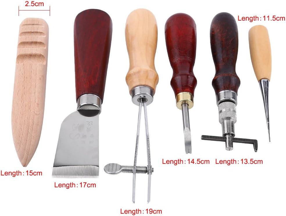 Aiber Leather Stitching Grooving Tool Edges Filter Adjustable