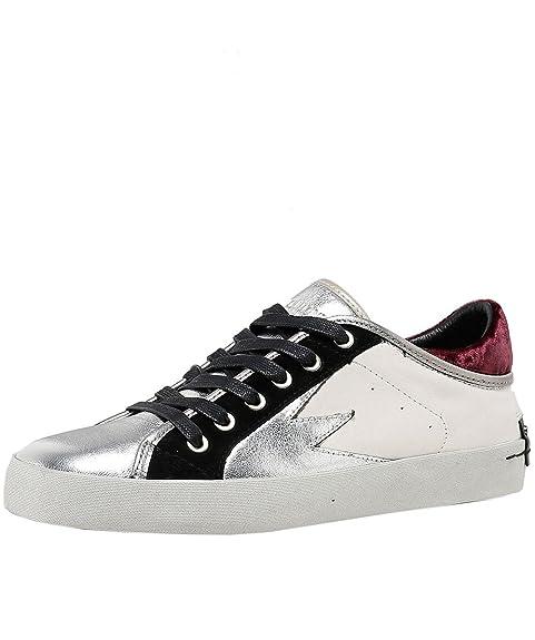 Crime London Scarpe Faith Lo Explosion Sneaker Bianco Donna 41 Bianco   Amazon.it  Scarpe e borse 40ba578b5a8