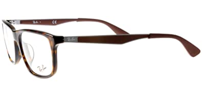 7c4899aea7b Image Unavailable. Image not available for. Color  Ray-Ban Vista RX7055F  2012 Eyeglasses Shiny Havana