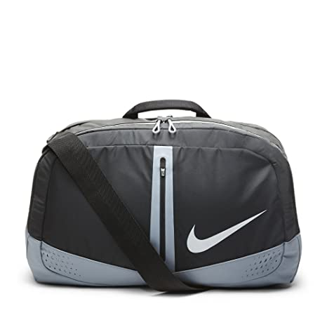 Nike Run - bolsa de deporte - negro/color gris/plata: Amazon ...