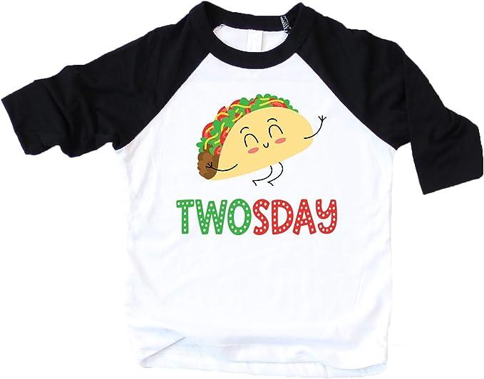 Amazon.com: Taco - Camiseta de dos días para niño con ...