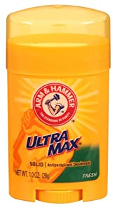 Arm & Hammer Deodorant 1 Ounce Solid Ultra Max Fresh (12 Pieces) (29ml)