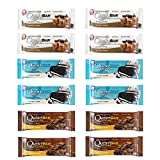 quest bar chocolate - Quest Nutrition Protein Bar Chocolate Lover's Variety Pack. Low Carb Meal Replacement Bar w/ 20g+ Protein. High Fiber, Soy-Free, Gluten-Free (12 Count)